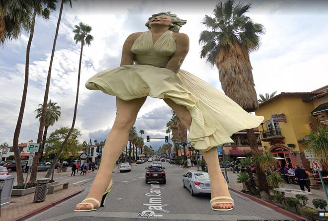 One idea for resolving the Marilyn statue debate.