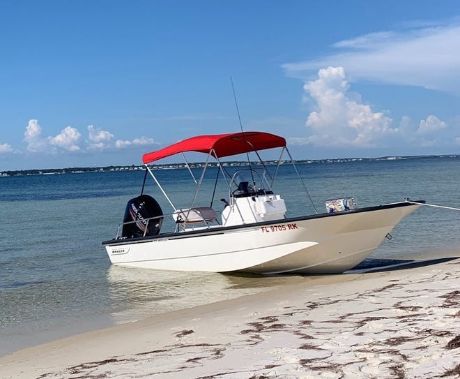 The Pensacola Police Department is searching for a stolen Boston Whaler.