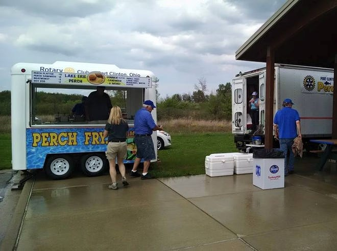 Beginning this upcoming weekend, the local Rotary Club's Perch Wagon will be at the Ottawa National Wildlife Refuge operating from 11:15 a.m. to 5 p.m. on Saturday and Sunday.