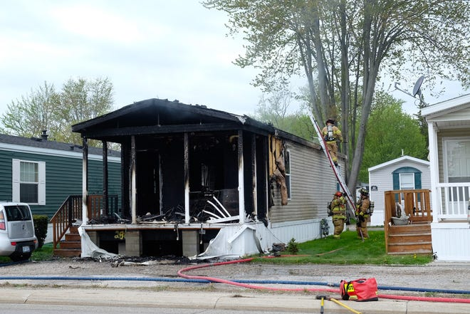 No injuries were reported following a structure fire in St. Clair Thursday.