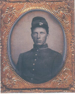 George Chenoweth of the 69th Indiana that formed in Wayne County made the supreme sacrifice in the American Civil War. Today's story is a letter his friend his sent home to George's mother.