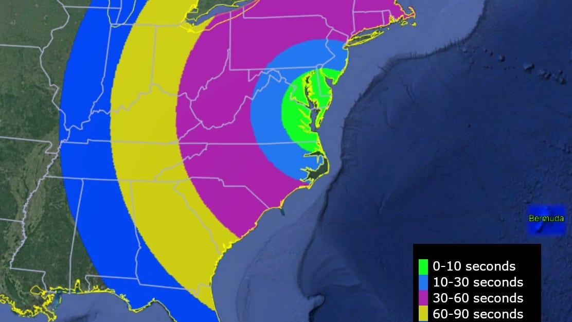 NASA Wallops launch moves to Saturday; eastern US may catch sight of it