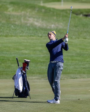 Sheboygan North's Mason Schmidtke heads into the Division 1 state golf tournament on a roll after winning regional and sectional titles.