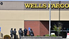 Police were dispatched Thursday afternoon to a report of a possible robbery in progress at Wells Fargo Bank at 200 33rd Ave. S in St. Cloud