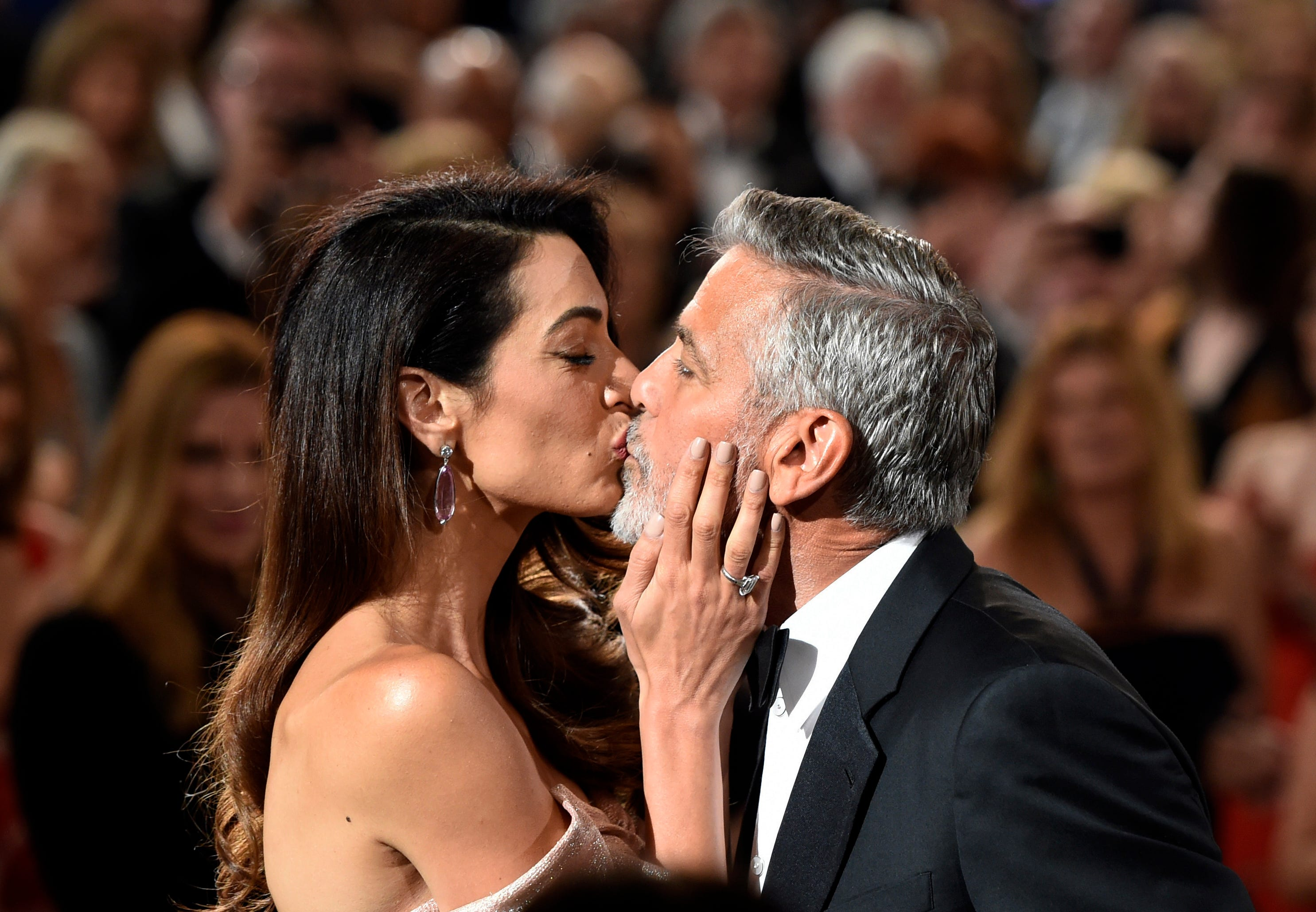 George and Amal Clooney s love story in pictures