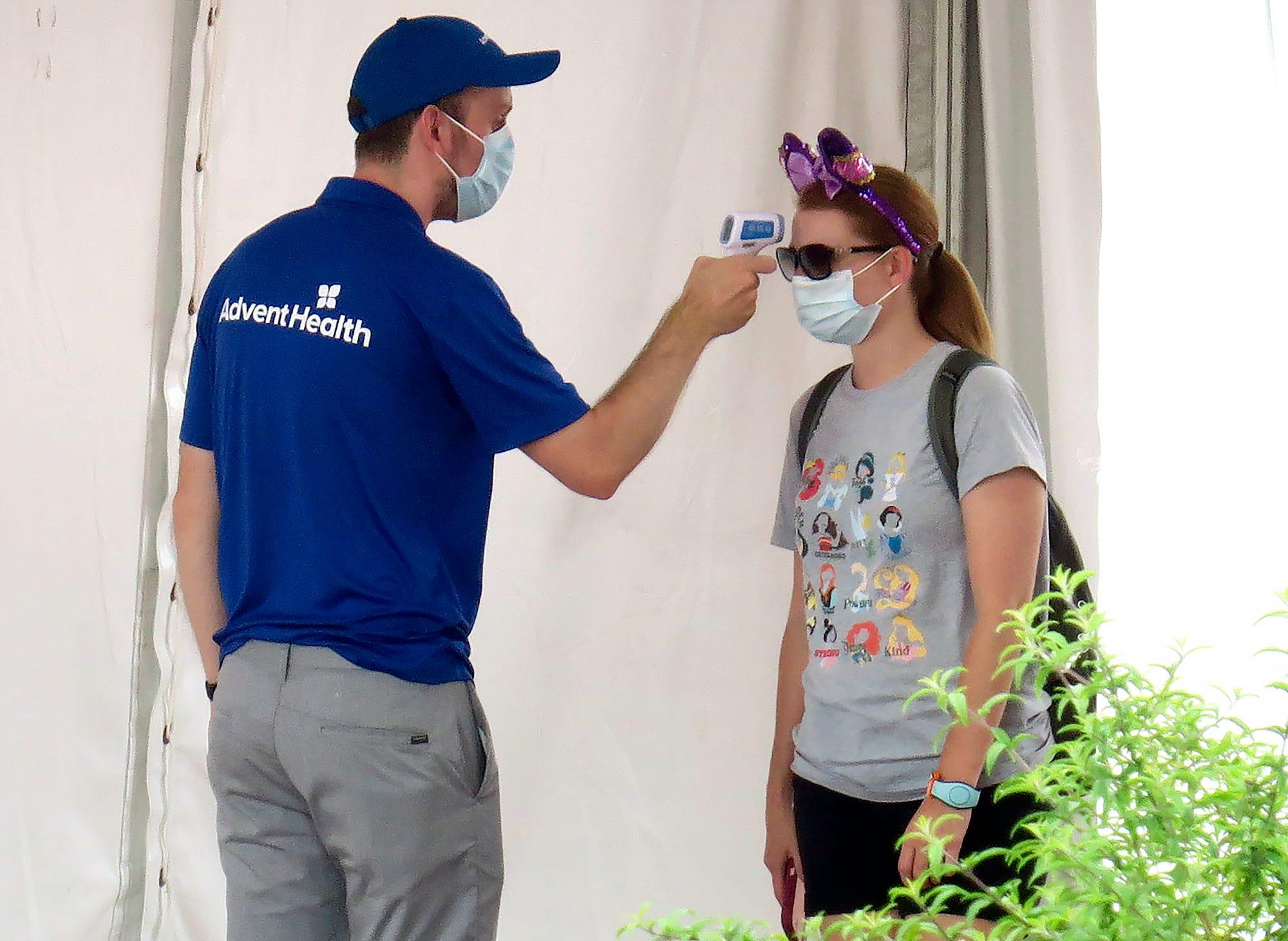 Disney World, Universal Orlando drop COVID temperature checks