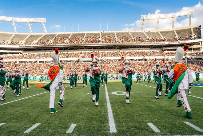 Florida A&M Marching 100 band file photo.