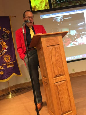 Bill Morris was named the 2021 Lion of the Year by the Alliance service club during its 78th Charter Night event.
