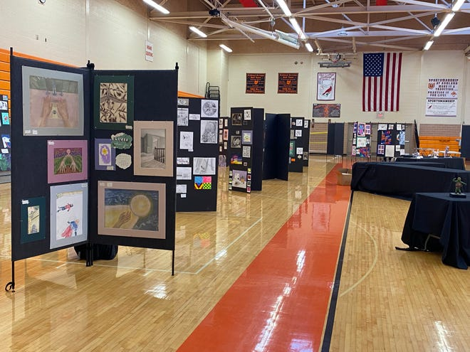 The Ashland City Schools Fine Arts Show is May 7, 8 and 9 at Ashland High School.