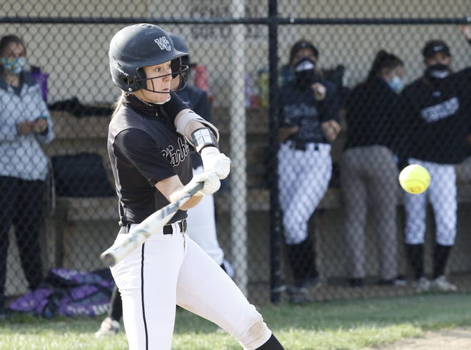 Westerville Central's Tatum Hubble leads her team with a .574 batting average.