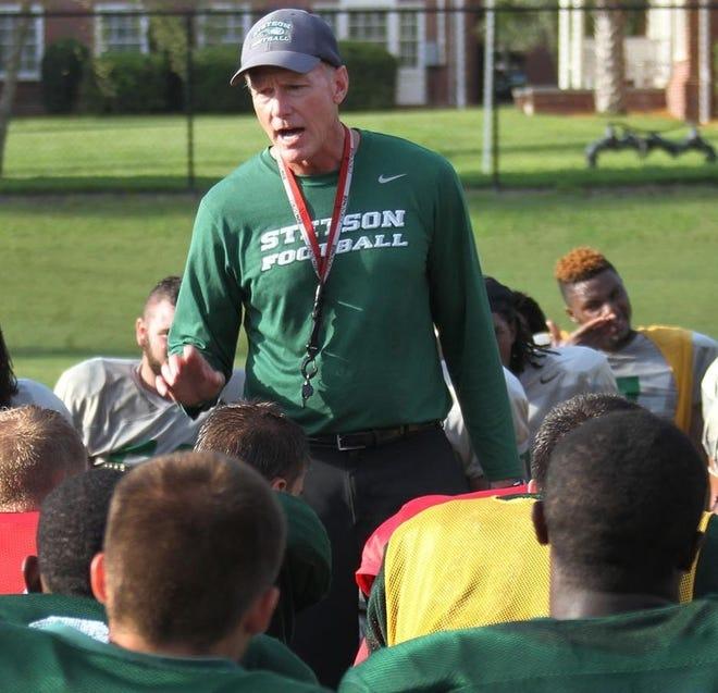 Roger Hughes, Stetson University's football coach since 2011, is leaving to become president of Doane University in Nebraska. Doane is his alma mater.