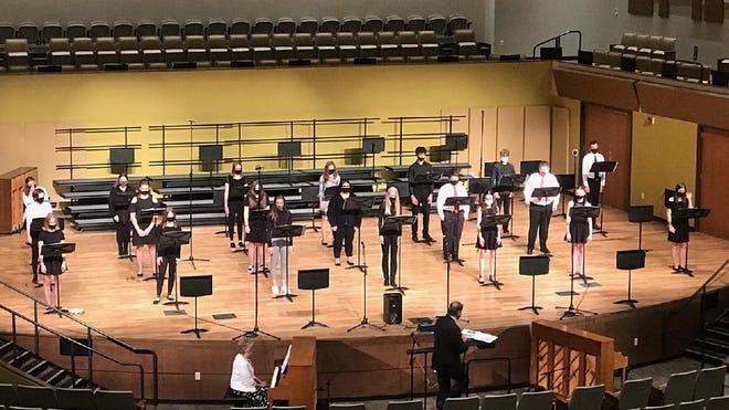Freshman choir