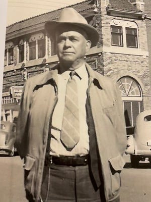 First Lubbock Police Chief C. S. Middleton.