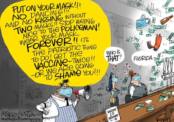 Today's editorial cartoon (May 9, 2021)