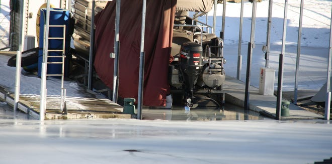 Last winter proved to be a rough one for dock and boat owners on Lake of the Ozarks when the Lake froze over. After the thaw, the Lake level dropped to near-record lows and many docks sat on dry land.