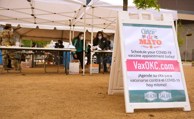 OCCHD opened a pop-up clinic recently to provide for COVID-19 vaccinations during the Cinco de Mayo celebration at Scissortail Park.