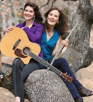 Robin Brooks, left, and Susan Pierce are the duo known as Middle Sister.