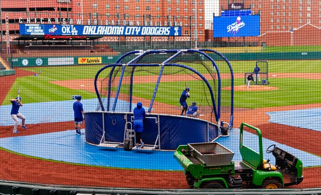 The Oklahoma City Dodgers will open the home portion of their season at 7 p.m. Thursday against Sacramento. The Dodgers are off to a slow start, losing five of six games in a road series against Round Rock.