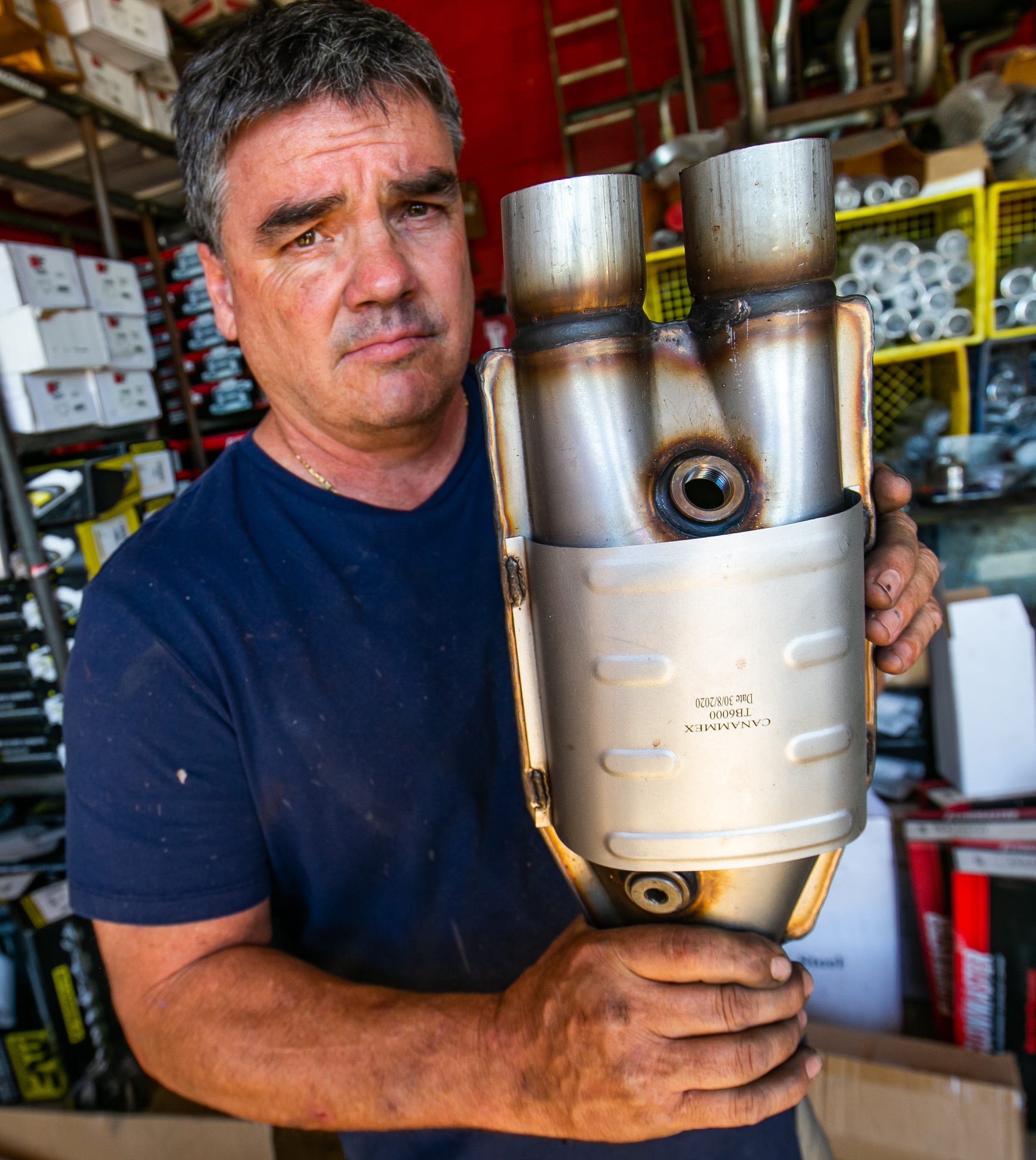 Catalytic converter theft soars: Thieves target SUVs ...