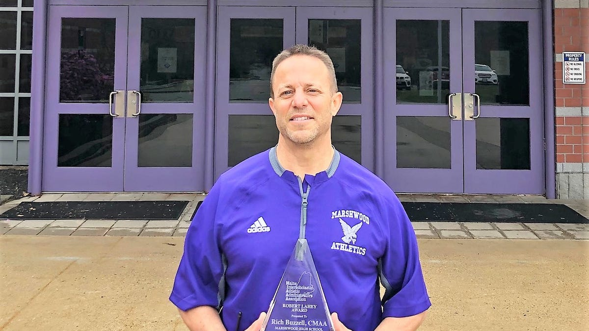 'Kids always top priority': Marshwood's Rich Buzzell is Maine's Athletic Director of Year