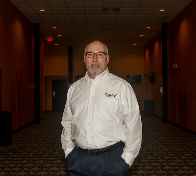 Jeff Davis, director of theater operations, is set to re-open Ravenna 7 Theater.