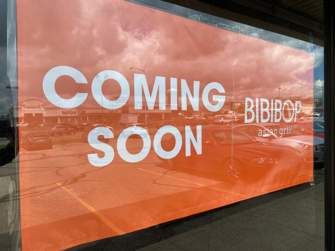 BIBIBOP Asian Grill, a chain of restaurants based in Columbus, has posted signs on a vacant commercial site in the Belden Village Mall area.