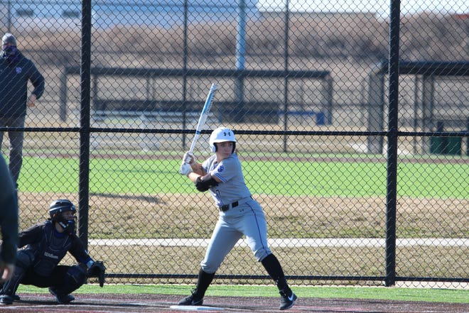 Mikayla Seay, a senior out of Hononegah, had two home runs and pitched all 10 innings to help spark the Rockford Regents to an extra-inning victory over Benedictine in Thursday's NACC tourney opener.