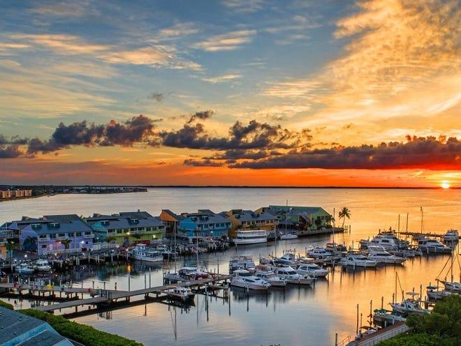 Fishermen's Village is a waterfront mall, resort and marina in Punta Gorda.