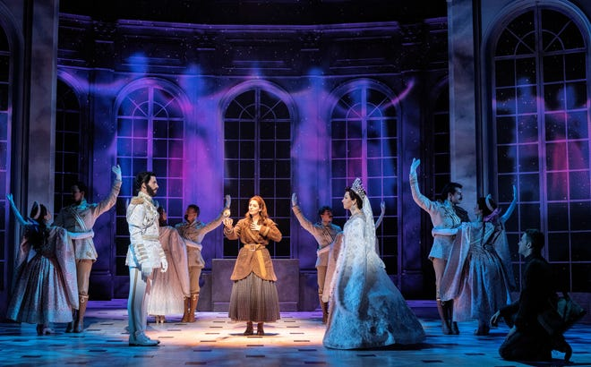 """A scene from the national tour of """"Anastasia,"""" the Broadway musical inspired by the hit animated film."""