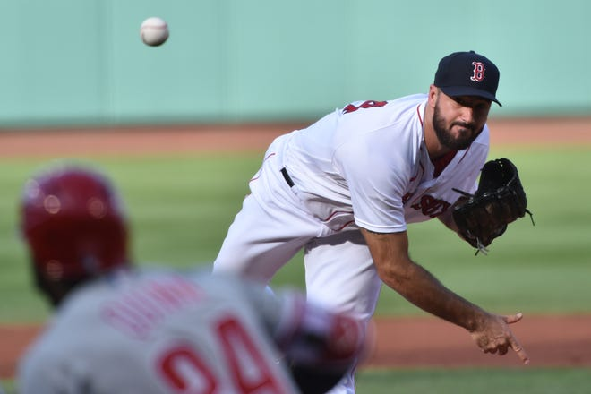 Brandon Workman, shown last season while with the Red Sox, is hoping a stint in Worcester is the thing that will allow him to rediscover his electric stuff.
