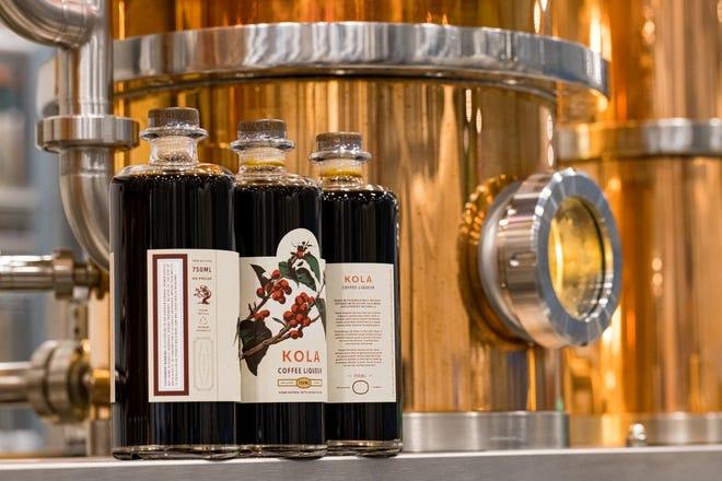 Tree House Brewing Company's new still and coffee liquor, Kola.