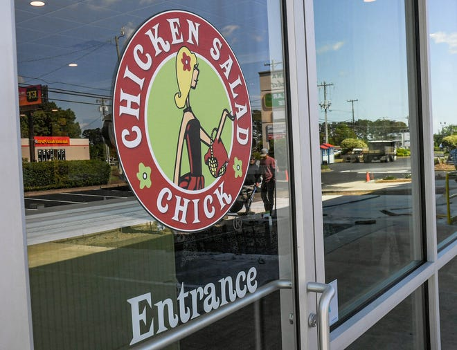 Chicken Salad Chick plans to open its location in Oak Ridge in August.