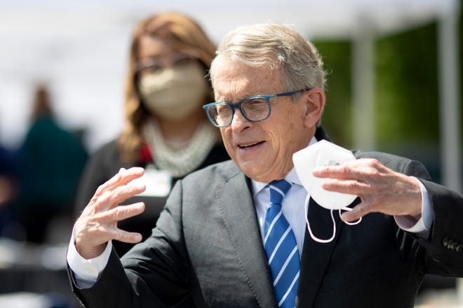 Ohio Gov. Mike DeWine's position on vaccine mandates hasn't changed in the wake of Biden's forthcoming order requiring vaccines for federal employees and businesses with more than 100 employees, a spokesman said.