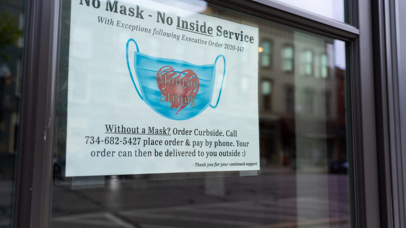 CDC says no masks for fully vaccinated; Michigan order still mandates masks in many cases