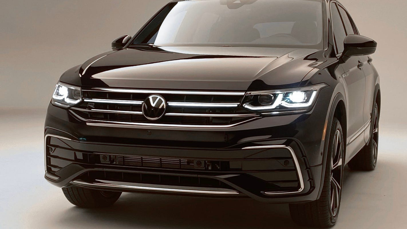This new feature makes the new 2022 VW Tiguan stand out at night