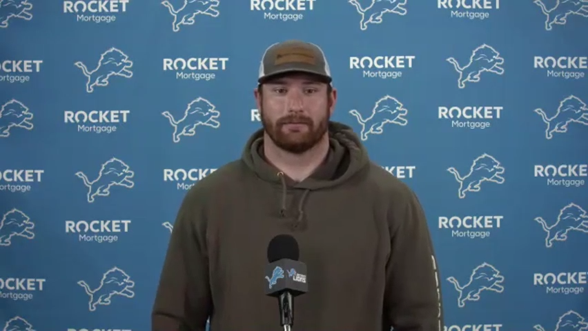 Frank Ragnow gets emotional after big contract, 'proud to be a Detroit Lion'