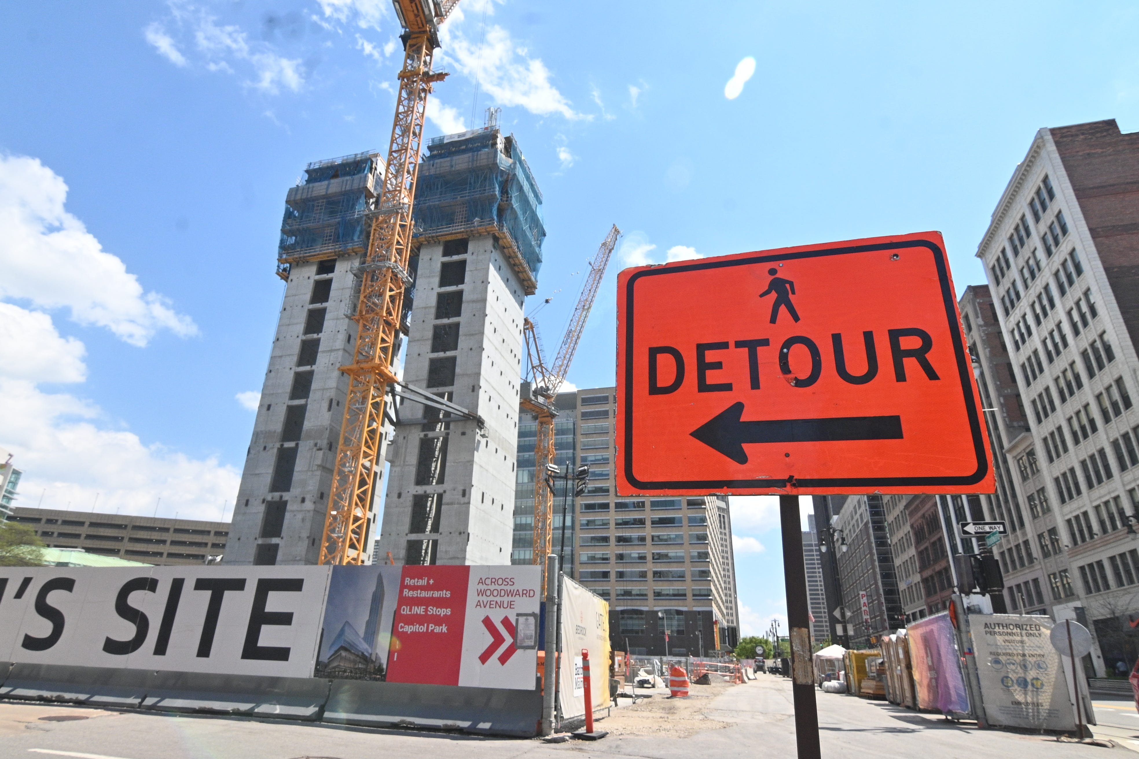 Metro Detroit construction cranking back to life amid labor shortages, rising costs