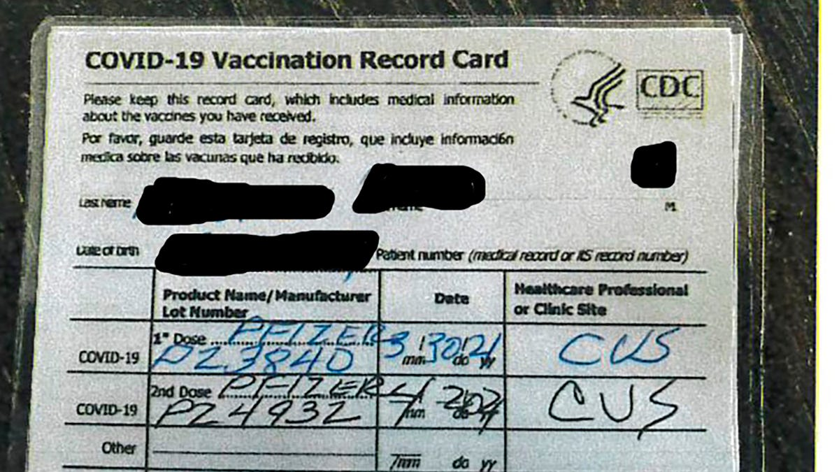 Authorities: Fake vaccination cards sold at California bar 2