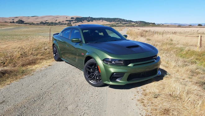 Who needs Hellcat? The 2020 Dodge Charger Widebody Scat Pack packs 395 horsepower - and is quicker through corners than its fabled Hellcat mate.