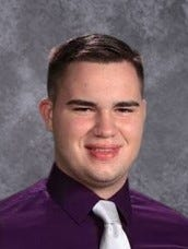 Thomas Gluth, a Fremont Ross High School senior, will be getting a manufacturing technology degree from Terra State Community College as a member of Ross' first Early College Program cohort.
