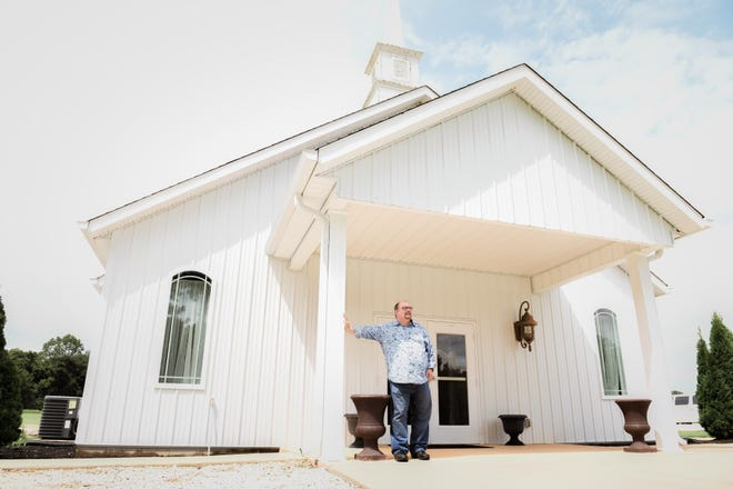 Dale Denning said he was glad Connect Church reached out to partner with Elevate Church to give Elevate a new home on the edge of town in Milan.