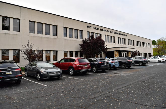 The West Shore School District Administration Center in Fairview Township, Thursday, May 6, 2021. Dawn J. Sagert photo