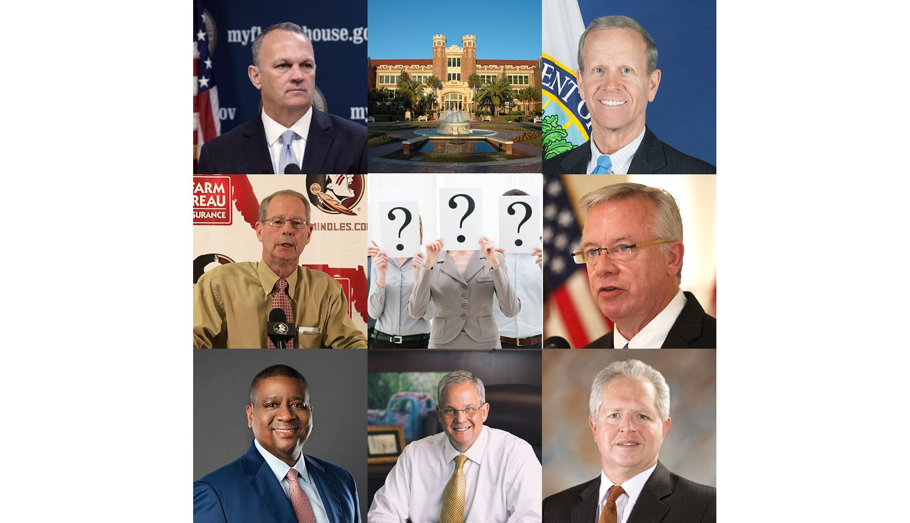Behind the scenes in the FSU presidential search: Familiar faces emerge as possible contenders