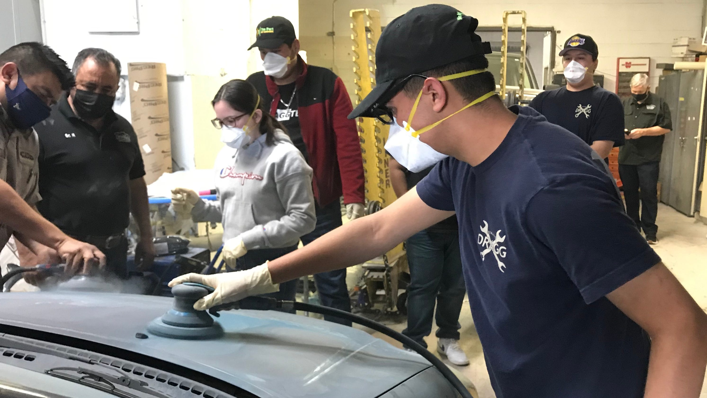 Students to give away refurbished car at event Saturday; car show and cruise also planned