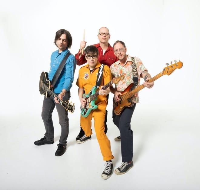 """Weezer released an homage to metal to the world in new album """"Van Weezer""""."""
