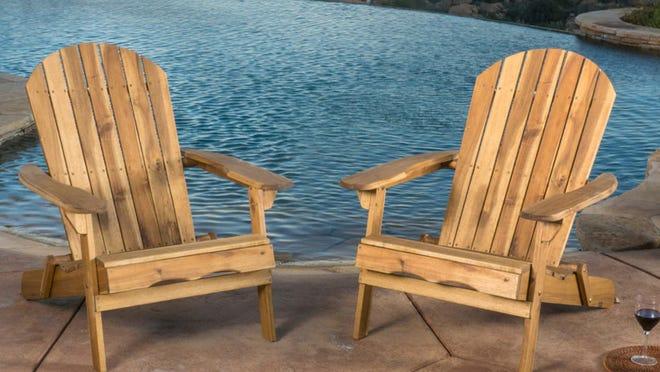 These Adirondack chairs a big winner.