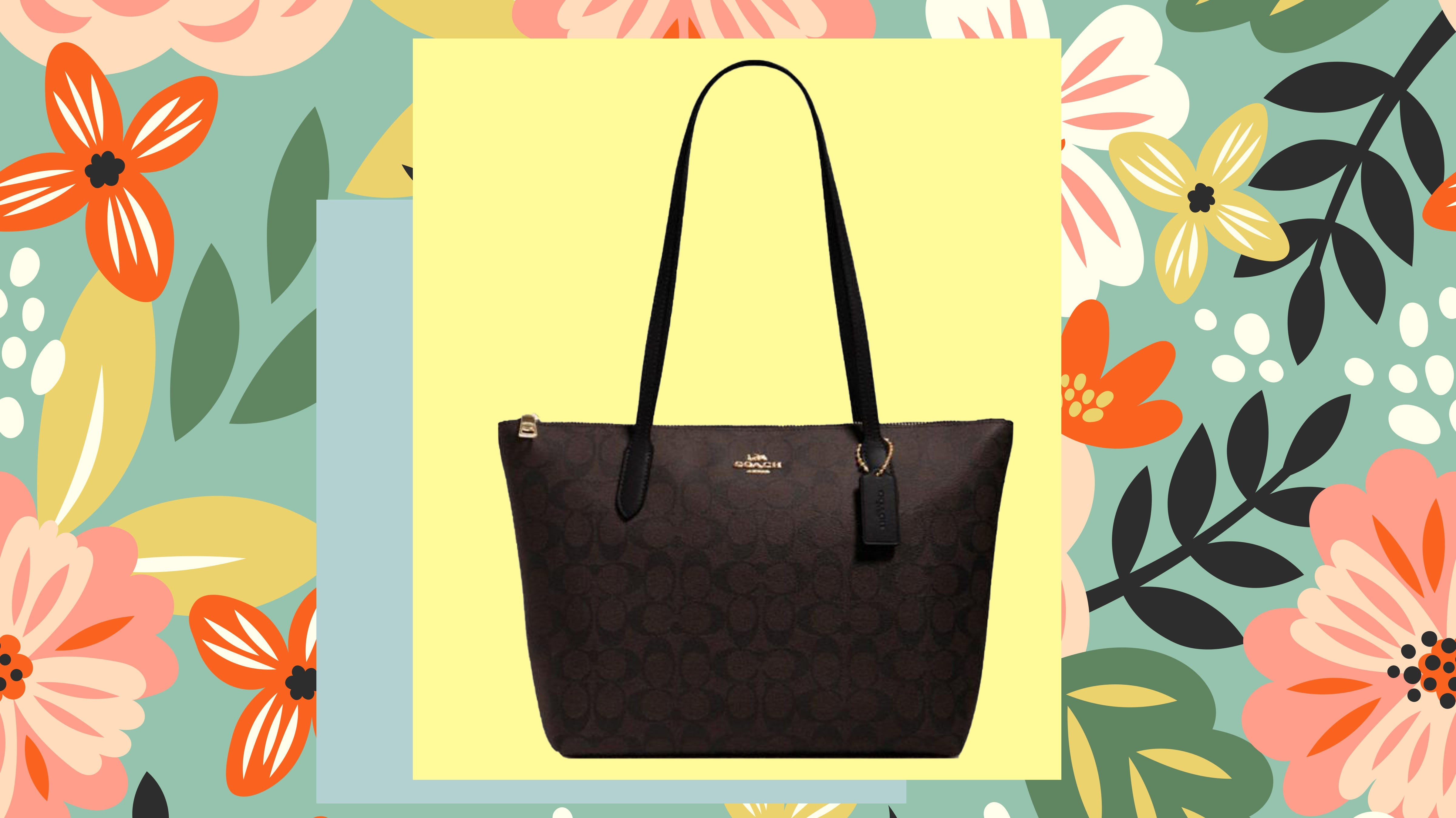 Coach Outlet is having a huge sale on new spring bags and more