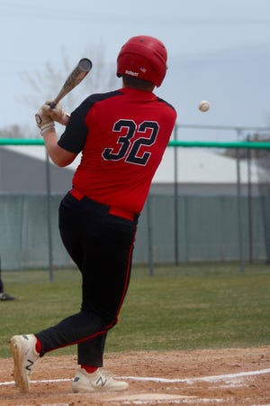Devils Lake baseball fell to Fargo North 8-1 and 9-5 on May 8 at the Roosevelt Park Legion Field.