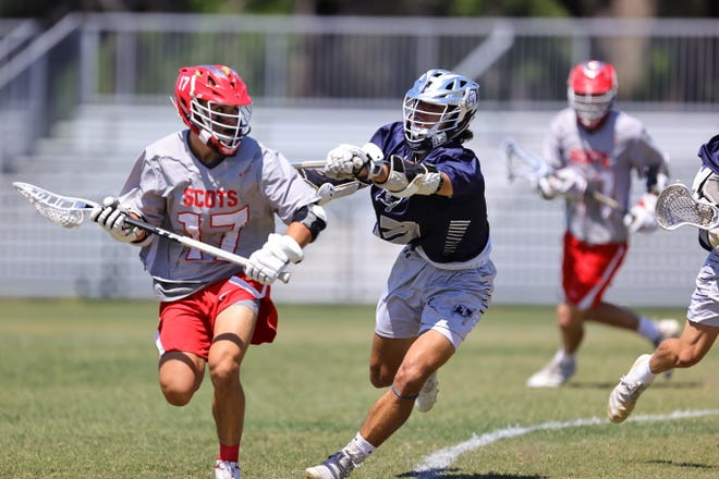 With Saturday's win, the St. Andrew's Scots finished the 2021 boys lacrosse season undefeated (16-0), while St. Edward's fell to 16-5 on the year.