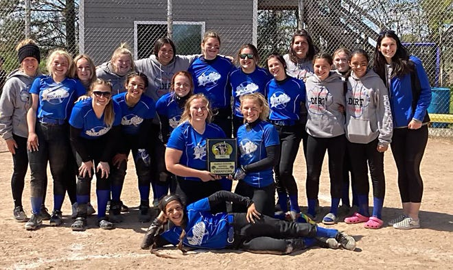 The Burr Oak softball team won the Climax-Scotts invite held on Saturday afternoon.